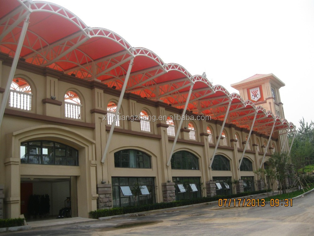 CE certification football building Steel structure PE grandstand building