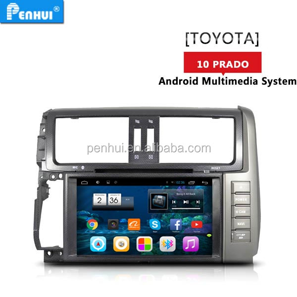 PENHUI Android 7.1 quad core Car DVD For Toyota Prado 150 (2010-2013)