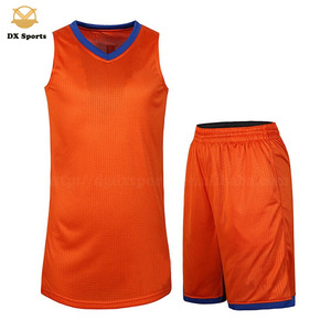 Latest Basketball Jersey Design Color Orange Wholesale Suppliers