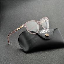 Брендовые дизайнерские блестящие очки в оправе, женские винтажные очки в оправе с кошачьими линзами, очки для чтения, оптические очки в опра...(China)