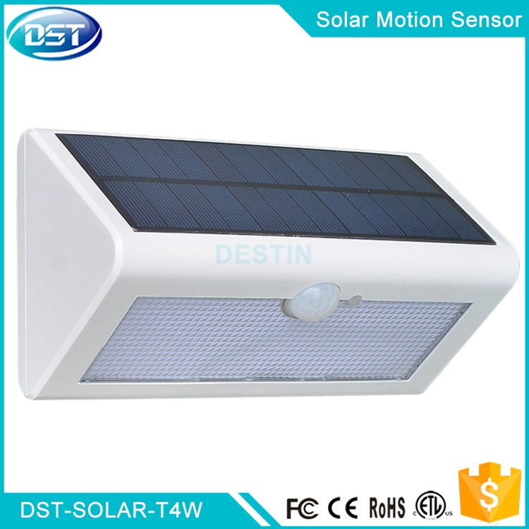 4watt Solar Motion Sensor Led Porch Light Ip67