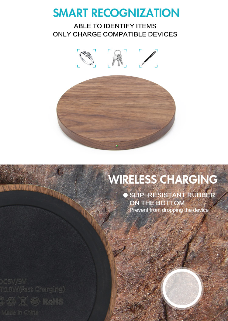 2019 Best Selling Christmas Gift QI Fast Wireless Charger