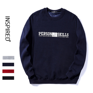 New arrival plain crew neck sweatshirt jersey man