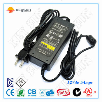 Ac/dc Adapter Cctv Camera 12v 5a Switching Power Adapter/12v Dc 5a ...