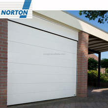 High Quality Steel Electrical PU Foam Insulated Garage Doors