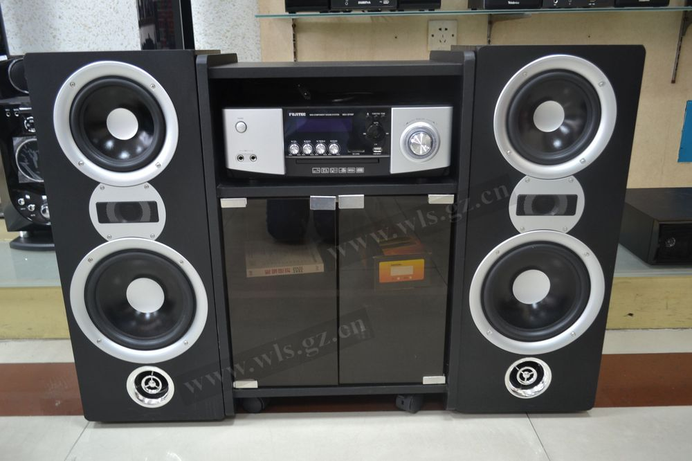Hottest Products On The Market Home Audio Hifi Stereo System With Beautiful  Cabinet