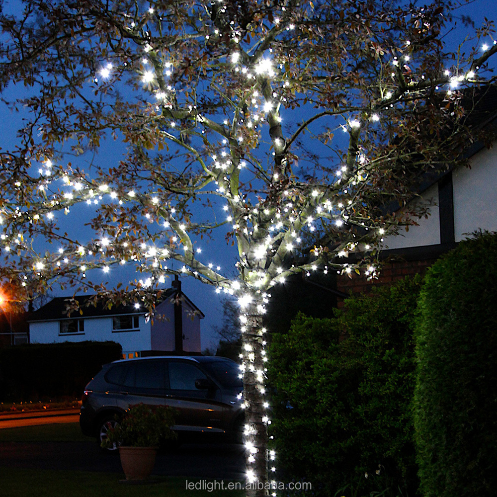 Pvc White Cable Led Lights String .led Fairy Lights.christmas ...