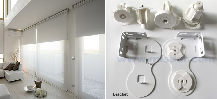 Double Roller Blind Brackets Dual Roller Blind Accessory