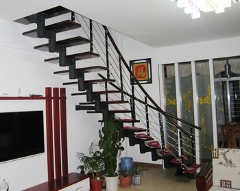 Open Riser Staircases/wrought Iron Staircase Design