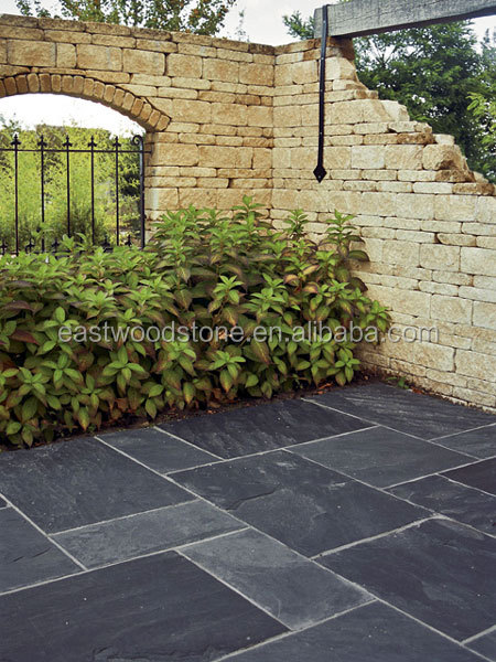 Dark Grey Slate Floor Tiles For Outdoor And Indoor Decorative Tile 30x30 Product On Alibaba