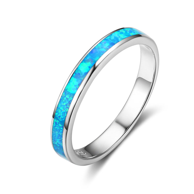 Simple womens 925 sterling silver multi layer index finger rings