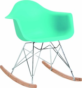 2018 sillas plasticas plastic chair rocking chairs T853