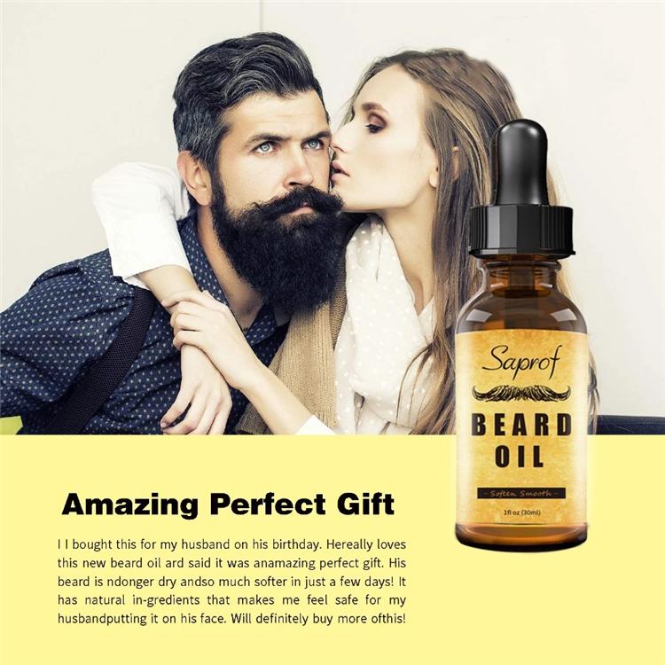 Barbe toilettage set avec boîte pour hommes barbe soins moustache croissance avec huile et baume à barbe kit