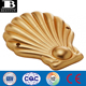 heavy duty vinyl gold giant luxe inflatable shell pool float durable plastic blow up seashell scallop water lounge raft