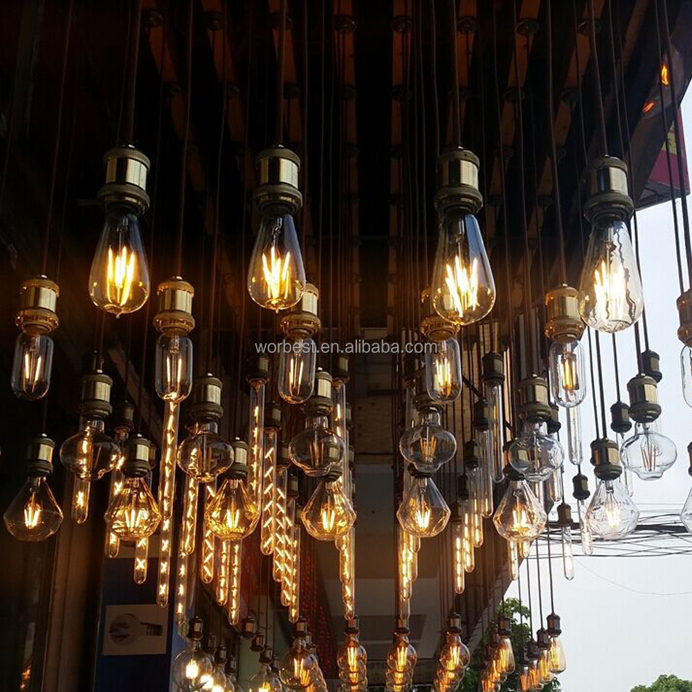 Newhouse Lighting Ledebd-og St64 Led Vintage Edison Filament Light ...