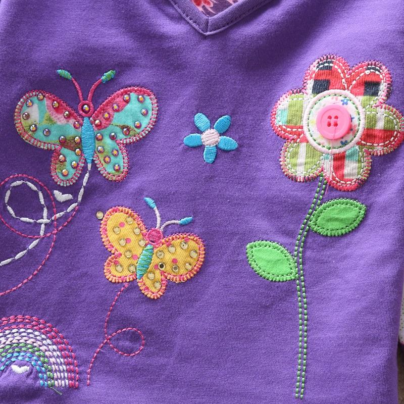 HTB1QDM8fILJ8KJjy0Fnq6AFDpXav - Girls Long Sleeve All Year T-Shirt, Long Sleeve, Cotton, Various Designs and Prints