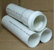 5 inch large diameter plastic pipe thin wall PVC pipe