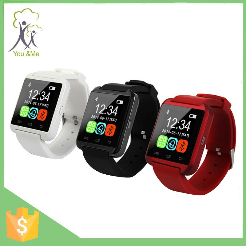 2016 super <strong>hot</strong> for ios and android whosale price interesting gift Big Promotion bluetooth wrist Smart Watch U8