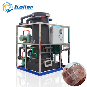 10tons stainless steel evaporator drum ice tube making machines
