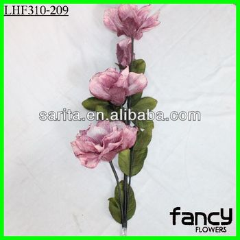 4 heads single stem pink chiffon flower artificial peony flowers 4 heads single stem pink chiffon flower artificial peony flowers mightylinksfo Images