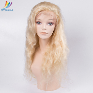 european like swiss lace wig cap deep wave 613 color virgin indian women human hair full lace wig
