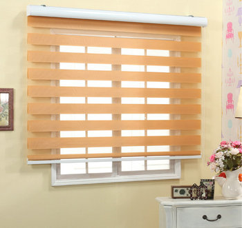 Good Quality Polyester Fabric Combined Blinds Buy Combined