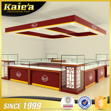 New product wood jewellery shop display counter and showcase for shop
