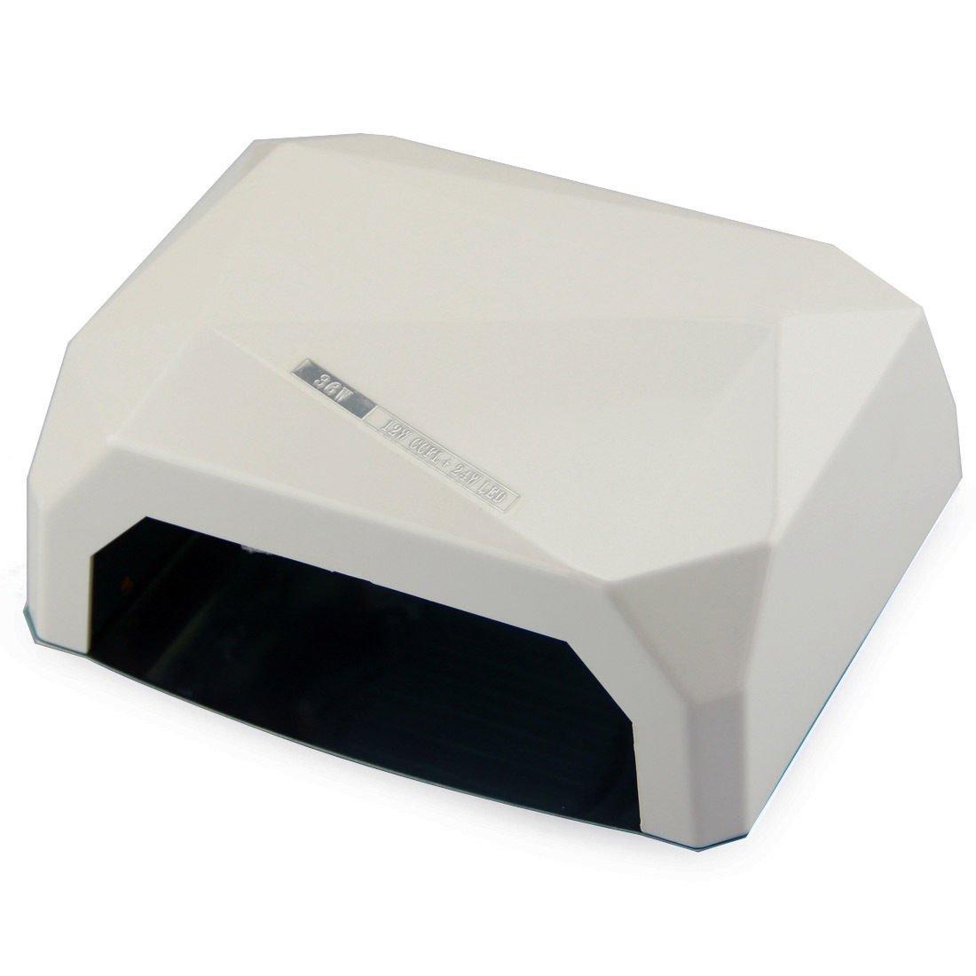 Pentop 36w Professional Diamond Shaped CCFL & LED UV Nail Lamp (UV & LED 2 in 1 Nail Gel Lamp), Curing Nail Dryer For LED UV Gel Nail Polish Nail Tools