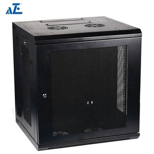 19 Inch Wall Mounted Double Section Rack Mount Enclosure Cabinet 4U 6U 9U 12U 15U Wall Network Server Rack Data Cabinet Price