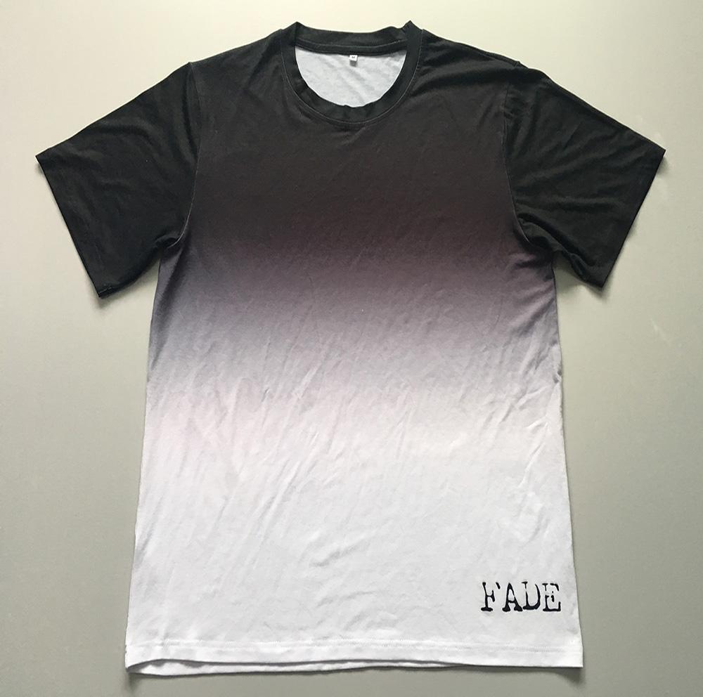 on sale 914d4 ff9db Mode Top Qualität 95% Polyester 5% Spandex Verblassen Farbe Mikrofaser  T-shirt Druck Mit Custom Design Oder Markenlogo - Buy Mikrofaser ...