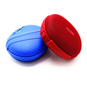 2018 best selling portable outdoor sport sound zone mini wireless blue tooth speaker with carabiner