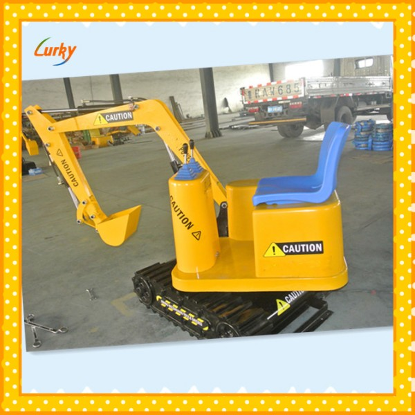 Pretty nice and high quality children excavator,low investment high profit business for amusement parks
