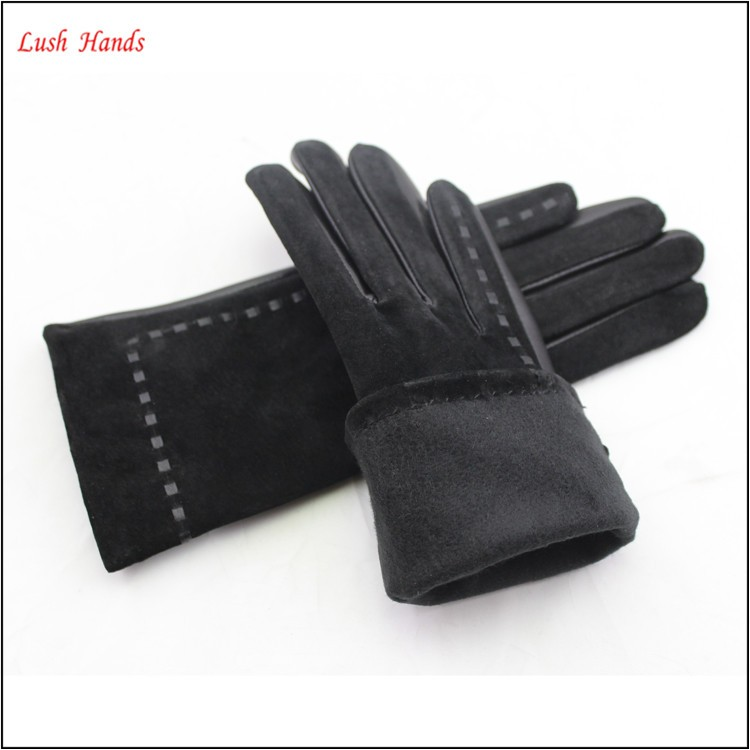 women tights five finger thicken gloves for cold