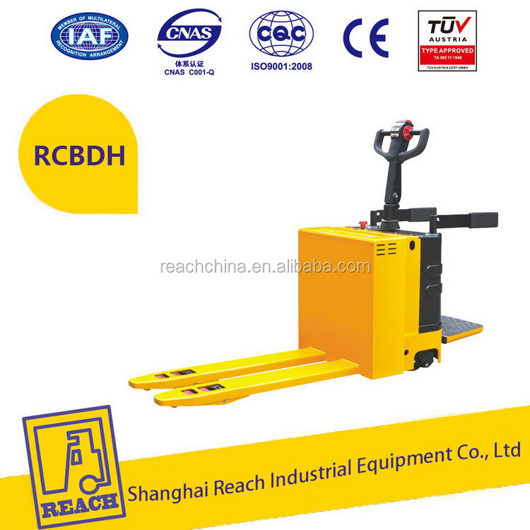 Alibaba china low price hand weight electric pallet truck scale