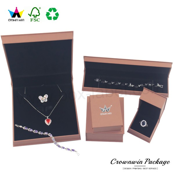 Velvet Jewelry Box Manufacturers China Necklace Box