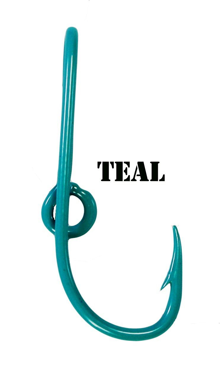 Eagle Claw Teal Hat Hook Fish hook for Hat Teal Fish Hook Money/Tie Clasp