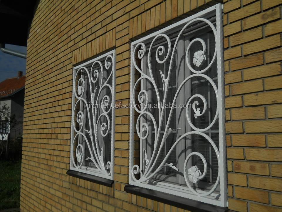 Simple Modern Wrought Iron Window Grill Design/metal Window Grills ...