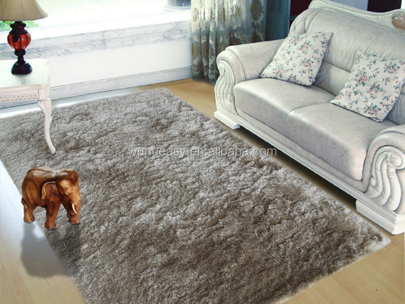 China Best Price Artificial Fur Silk Area Rugs