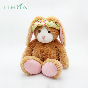 China Promotional Long Ear Stuffed Plush Easter Bunny Toys