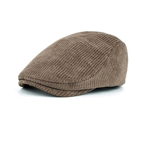 c7cbfecb496cb Winter warm thicken mens french beret hat for wholesale