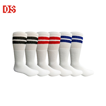 DS-I-1319 mens high tube sock men long cotton tube socks