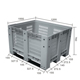 Heavy Duty Plastic Pallet Box For Cargo & Storage & Fruits & Vegetables
