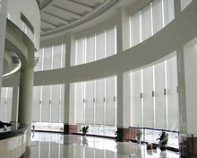 Factory Direct Translucent fabric outdoor window roller blinds shades