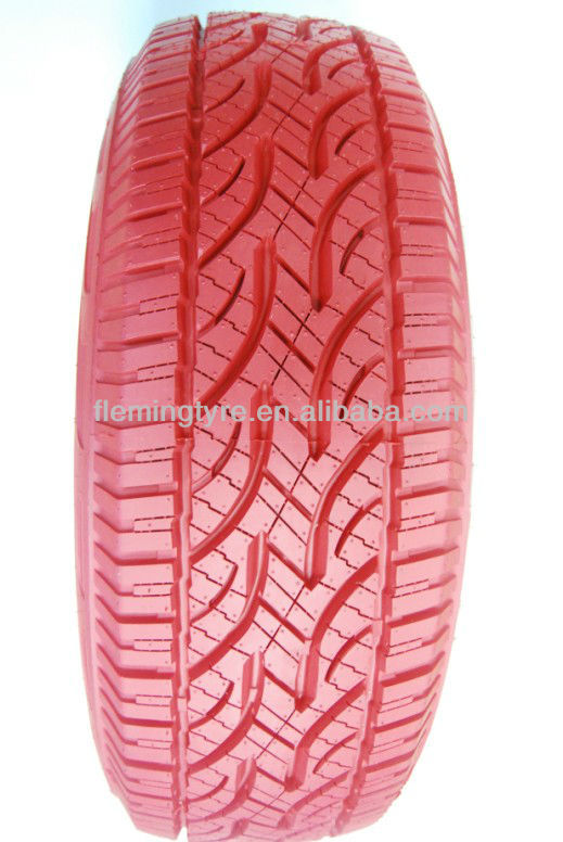 Red colored Car Tire PCR Tyre 185/70r13,195/65r15