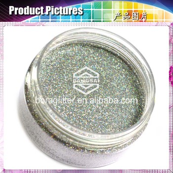 Pure Silver Glitter Acrylic Nail Powder For Samples - Buy Pure ...