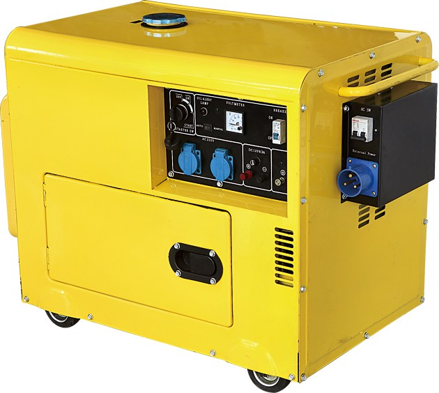 5000watt Silent Diesel Generator Price In India/small Portable ...