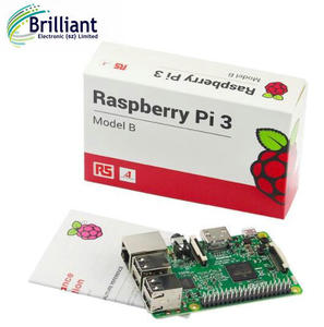 RS Version Made in UK Original Raspberry Pi 3 Model B RPI 3 with 1GB LPDDR2 BCM2837 Quad-Core WiFi&Bluetooth4.0