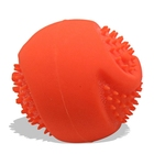 100% Non-toxic Chew Toy, Natural Rubber Baseball Sized - Dog Ball for Aggressive Chewers - Monster K9 Dog Toys
