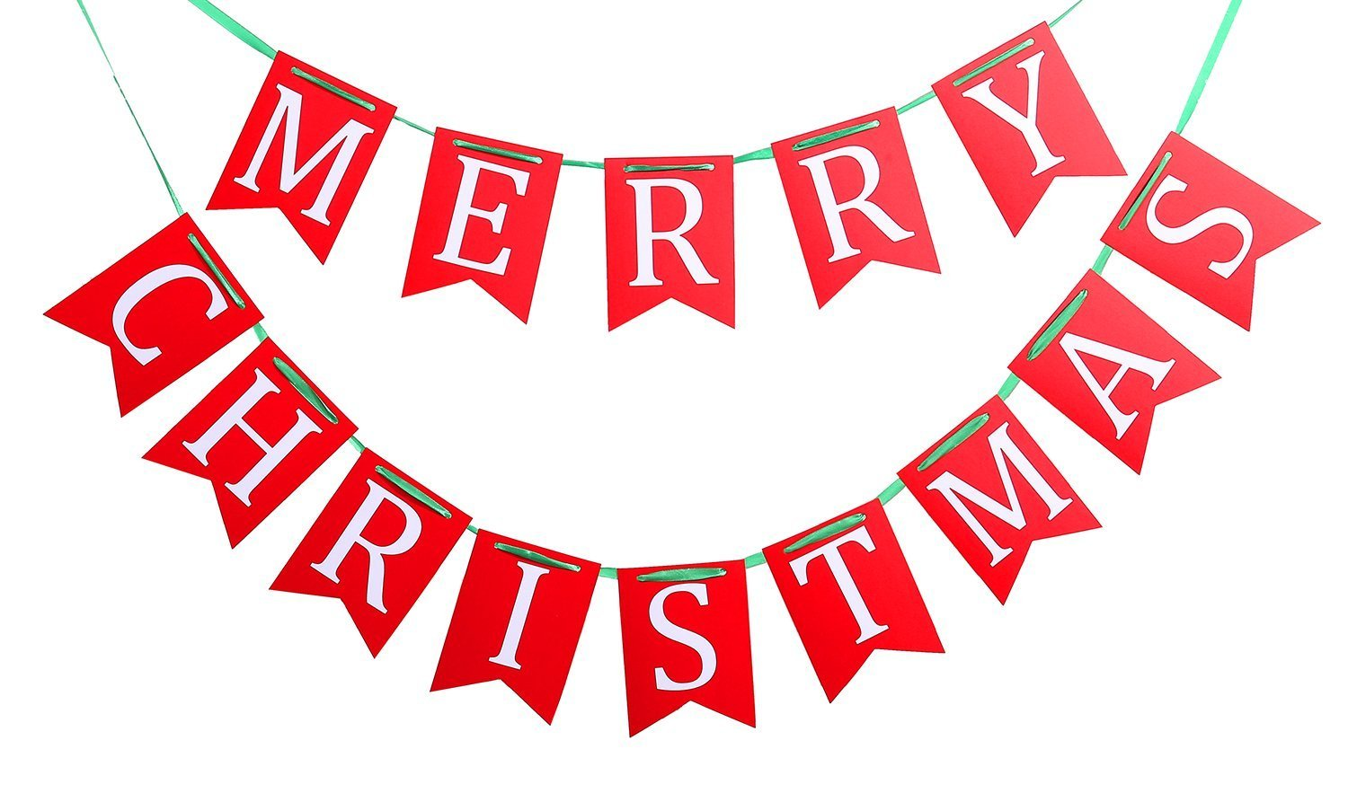 get quotations merry christmas banners garlands flags for holiday xmas party decoration ornaments supplies