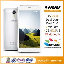 Cheap price OEM m100 5 inch Dual Core Quad Core 3G android brand new mobile phone